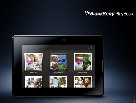 Blackberry Playbook Screenshot