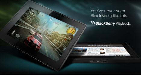 BlackBerry Playbook Tablet unveiled, looks impressive.