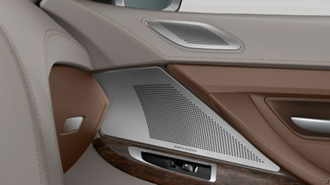 Bang & Olufsen Sound System spotted in BMW at Paris Motor Show