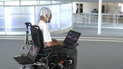 Swiss Researchers Showcase A Brain-controlled Wheelchair