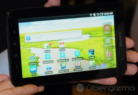 Samsung Galaxy Tab Carrier Launch Dates Leaked?