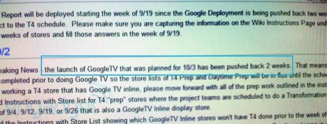 Google TV To Be Officially Launched On Oct 17th?