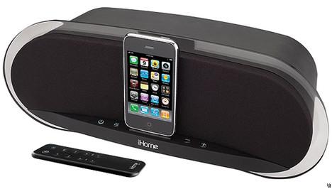 iHome iP3 speaker dock for iPhones and iPods