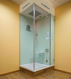 Kaesch Micro Steam shower cabin does more than clean you