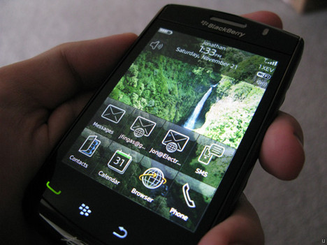 BlackBerry Storm 3 leak debunked?