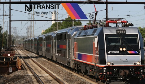 New Jersey Planning to Add WiFi to Trains