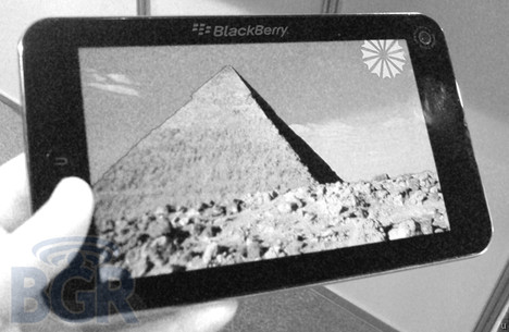 BlackBerry Tablet will not be announced by RIM today