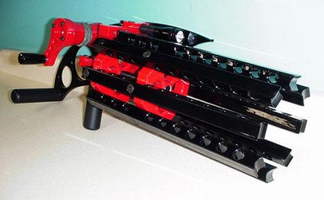 Rubber Band Gatling Gun Helps You Get Revenge
