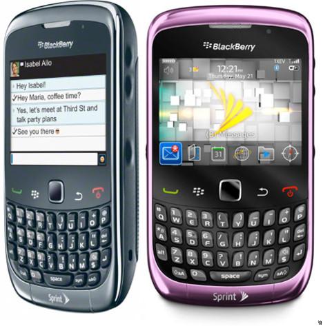 Sprint offers BlackBerry Curve 3G
