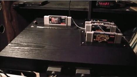 Super Nintable Gaming Table Mod