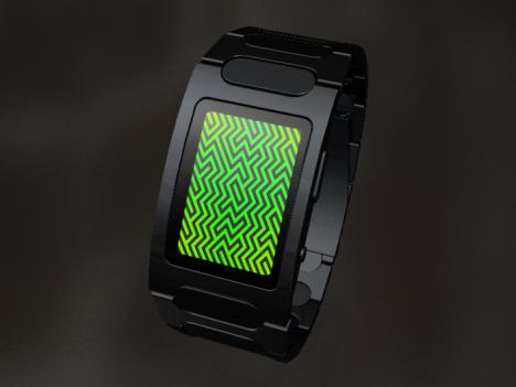 Tokyoflash Optical Illusion LED Watch Design