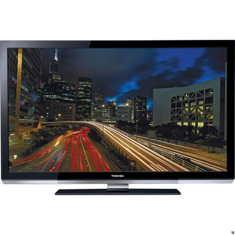 Toshiba UL605 series of LED-backlit TVs are welcomed to the world