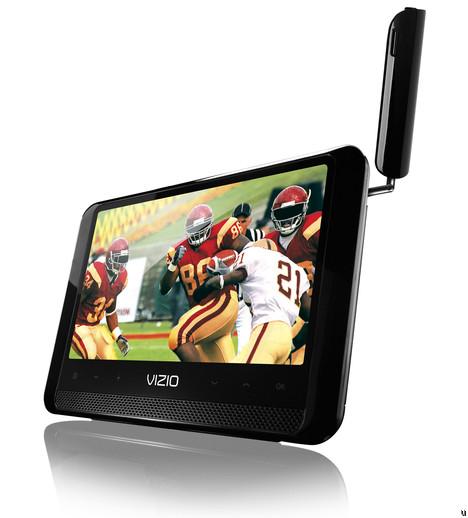 Vizio 7-inch Edge Lit Razor LED LCD Portable TV