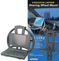 Laptop Steering Wheel Mount