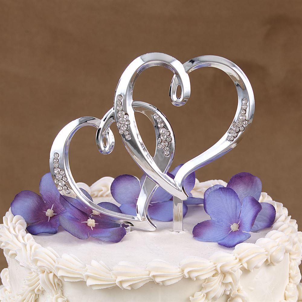Double Heart Pick  Anns Bridal Bargains