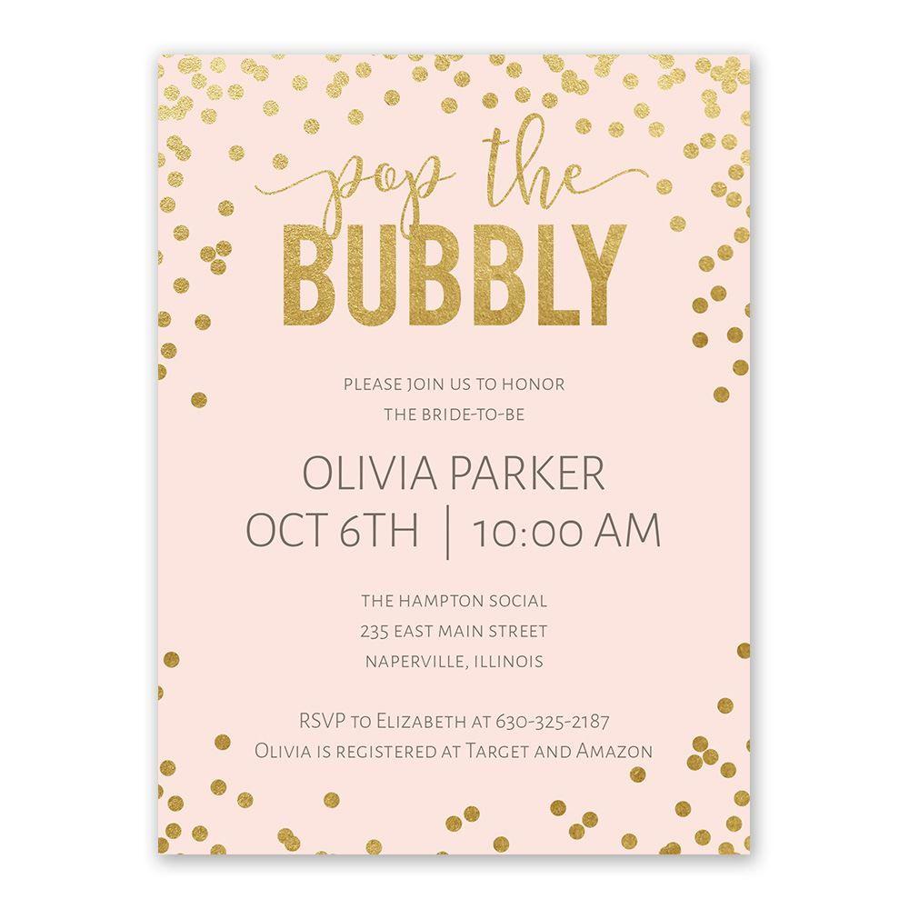 cheap bridal shower invite