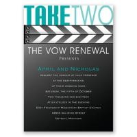 Take Two Vow Renewal Invitation | Invitations By Dawn