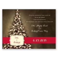 All Aglow Holiday Card Save the Date | Invitations By Dawn