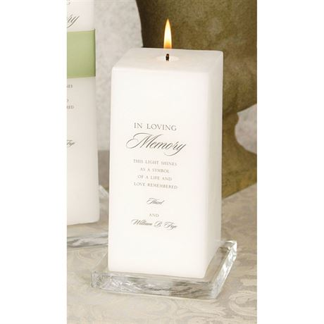 Memorial Candle  Invitations By Dawn