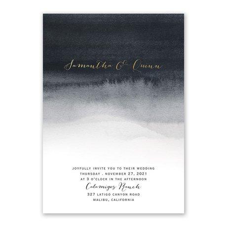 Mysterious Love Foil Invitation Invitations By Dawn