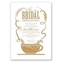 Coffee Talk Bridal Shower Invitation | Invitations By Dawn