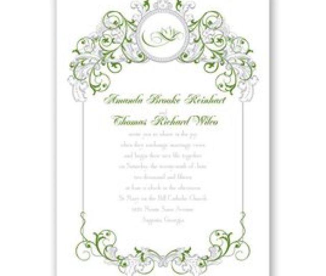 Disney Wedding Invitations Disney Fairy Tale Filigree Invitation Tiana
