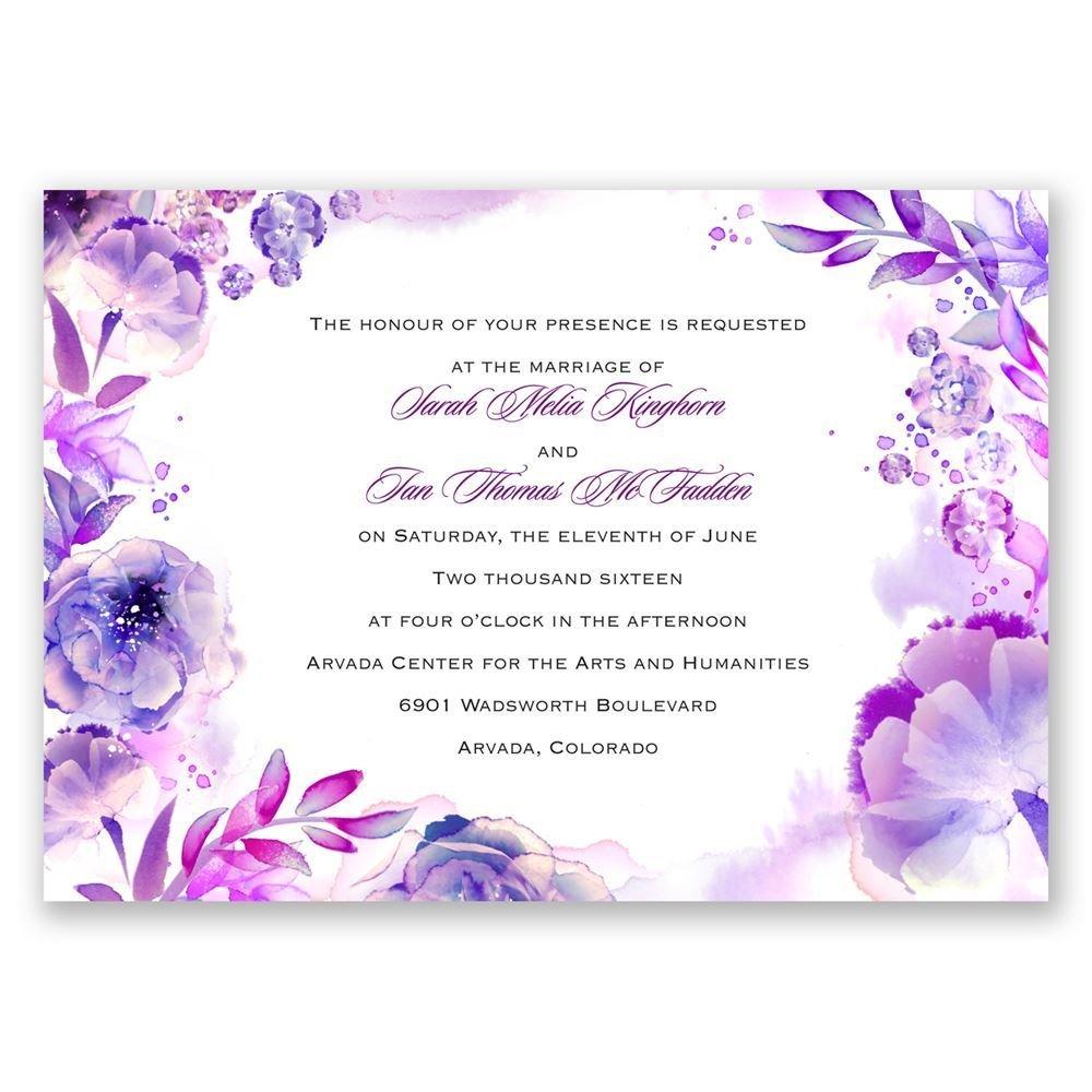 Cheap Wedding Invitations Gold