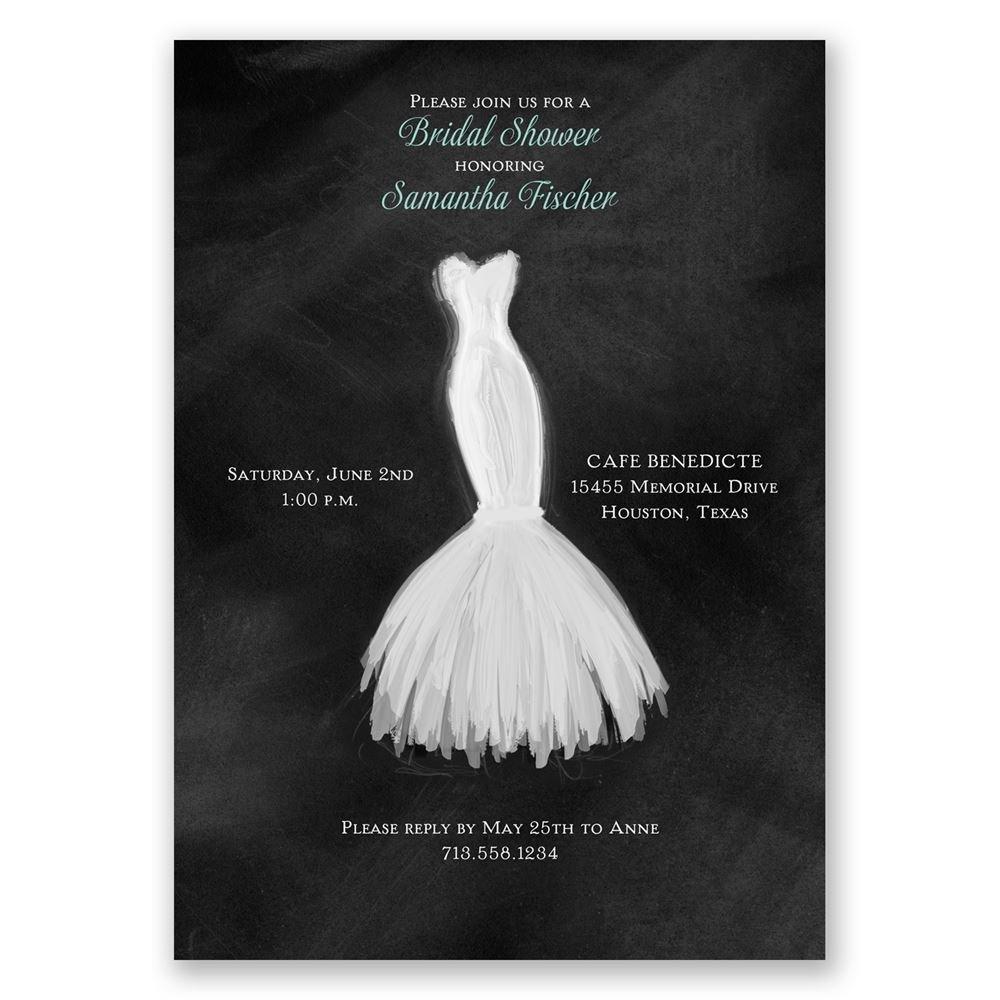 Wedding Fashion Bridal Shower Invitation Invitations By Dawn