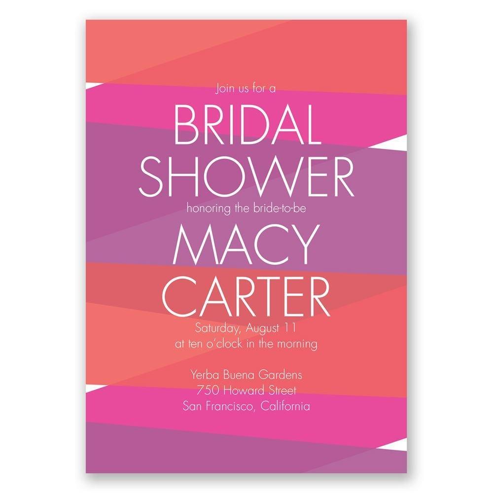 Crazy for Color Bridal Shower Invitation  Invitations by Dawn