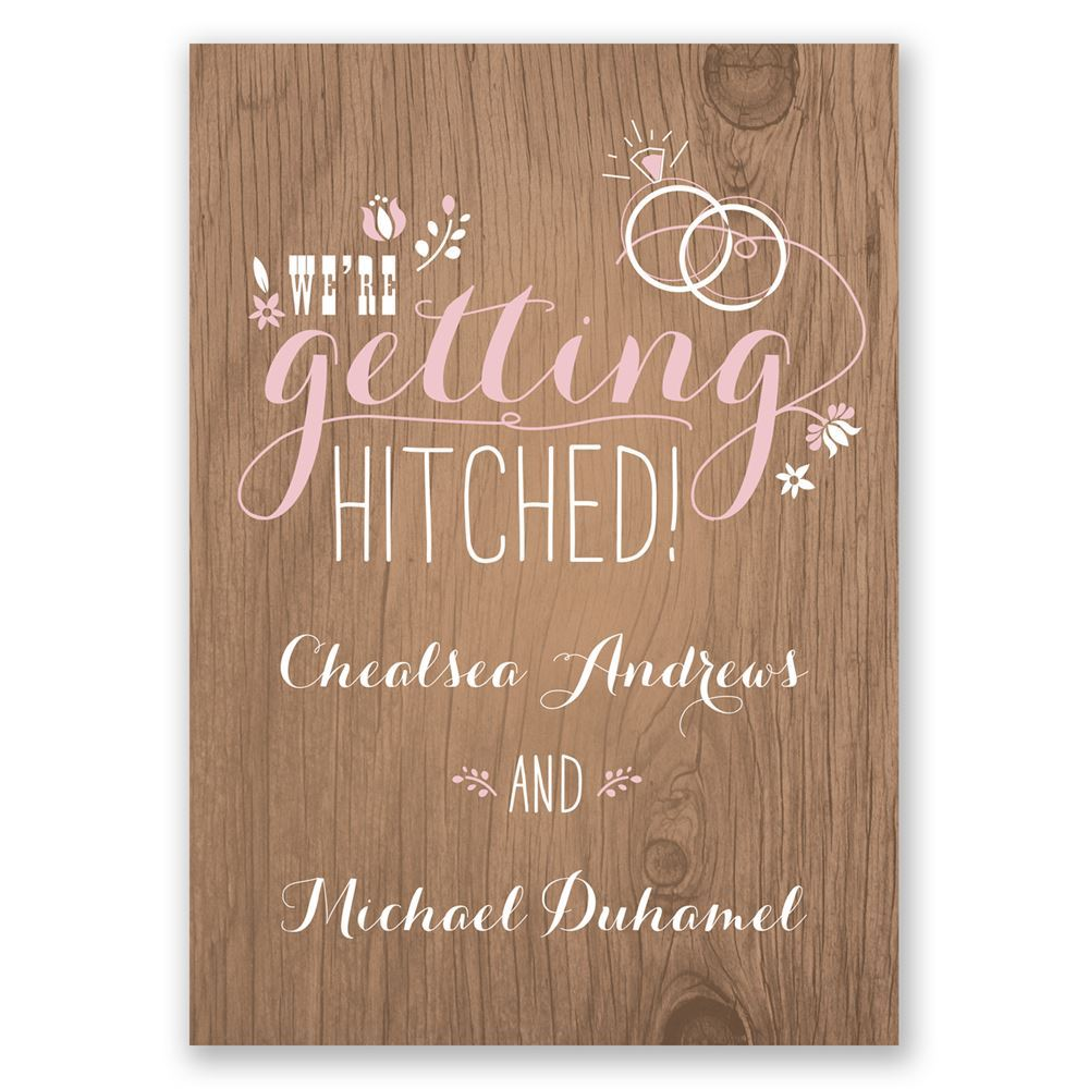 Pretty Rustic Engagement Party Invitation Invitations By