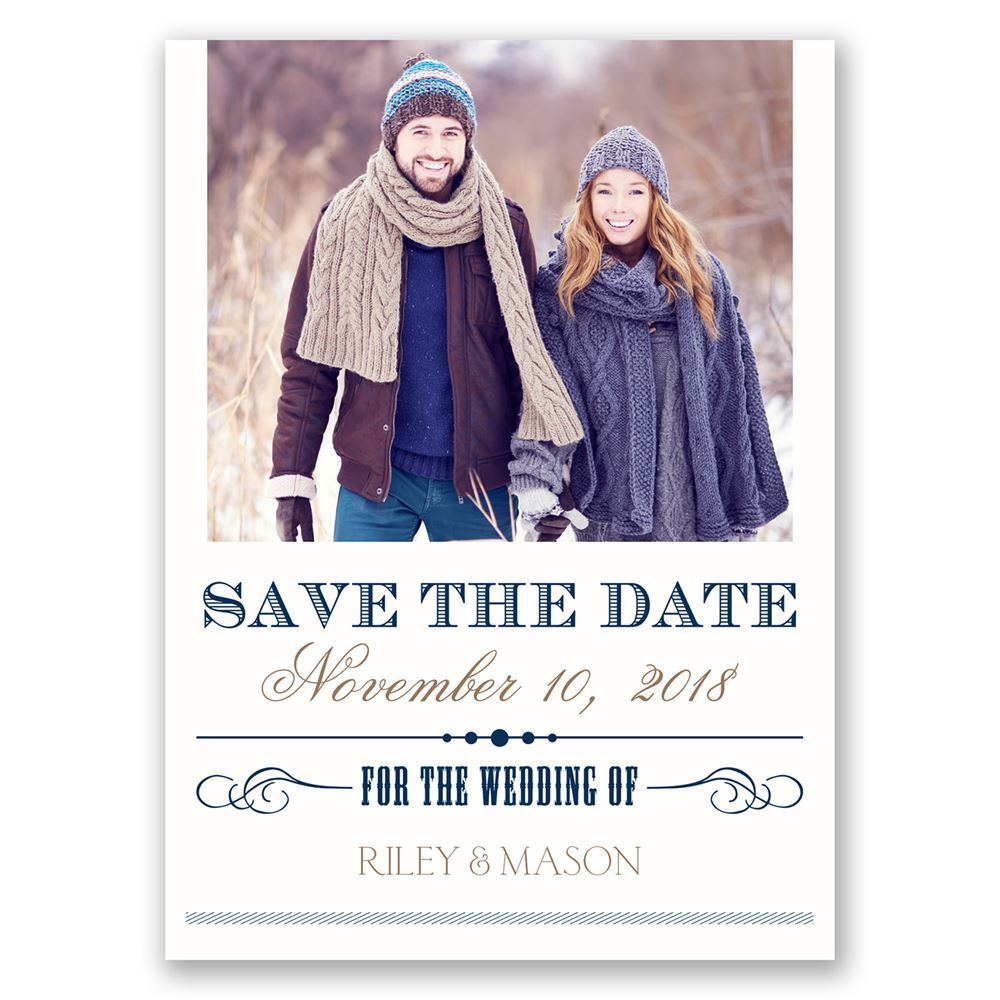 Elegant Details Save The Date Postcard Invitations By Dawn