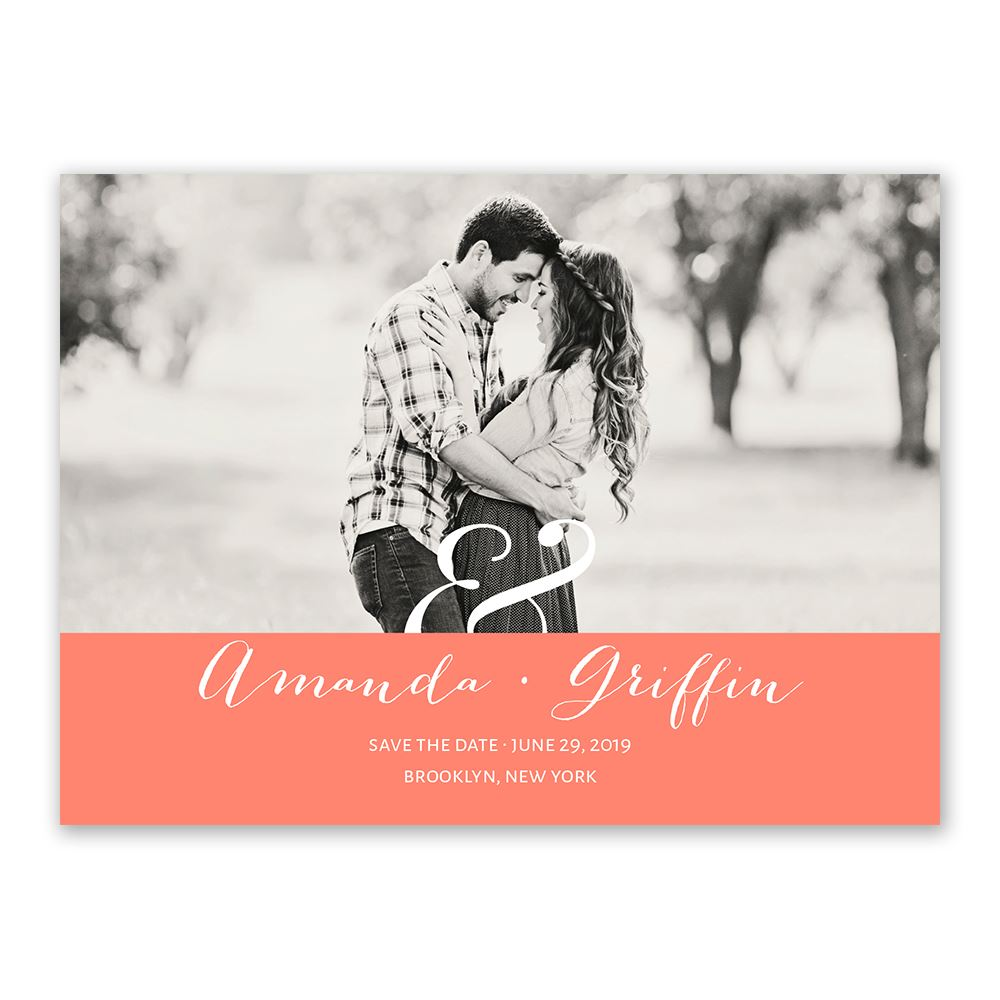 Modern Style Save The Date Card Invitations By Dawn