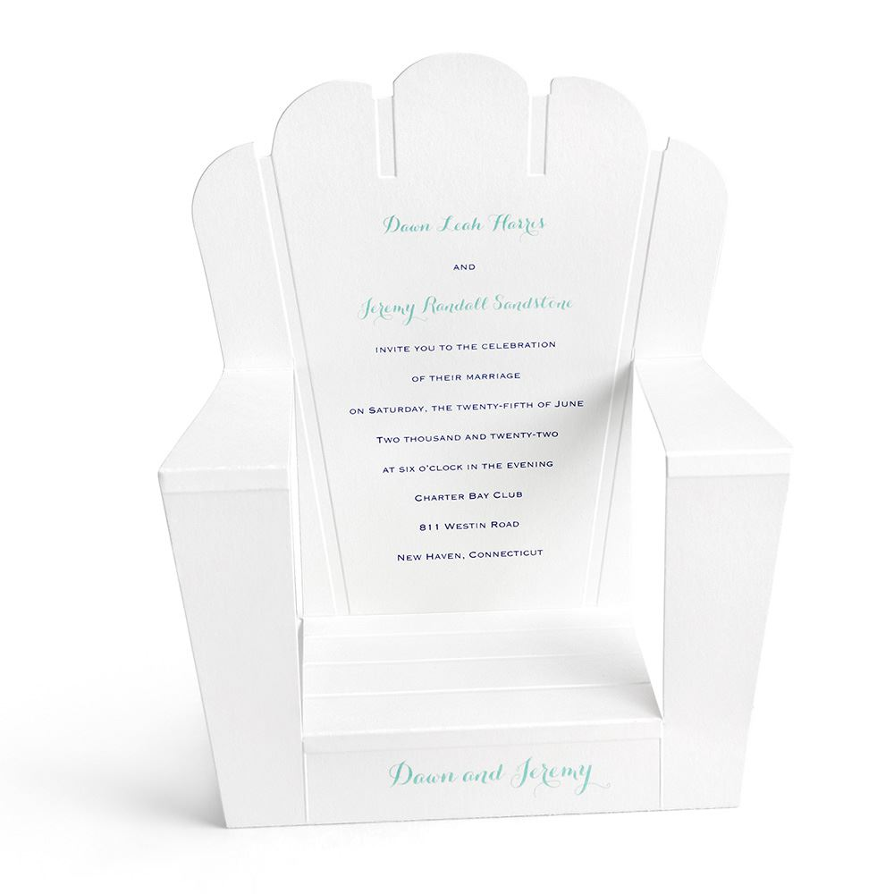 adirondack chair reviews chiavari chairs rental houston reserved seating invitation | invitations by dawn