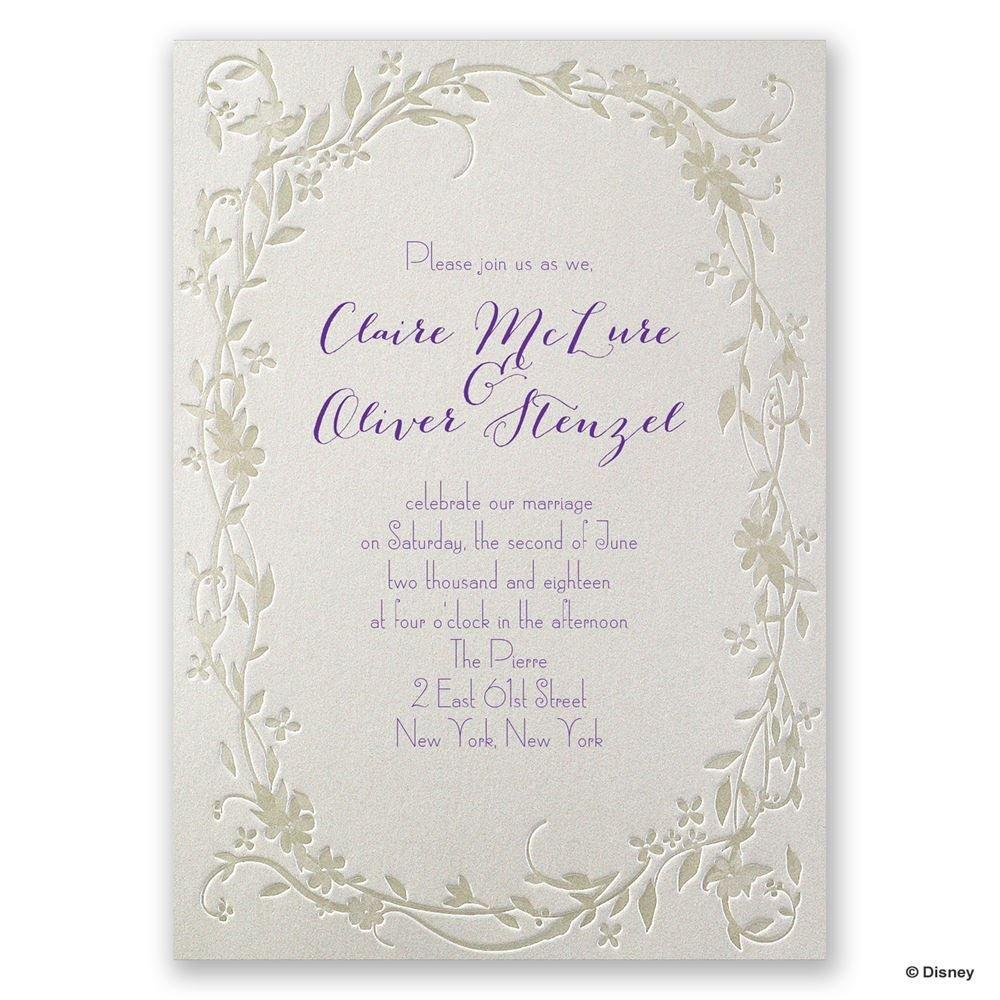 Printed Wedding Shower Invitations