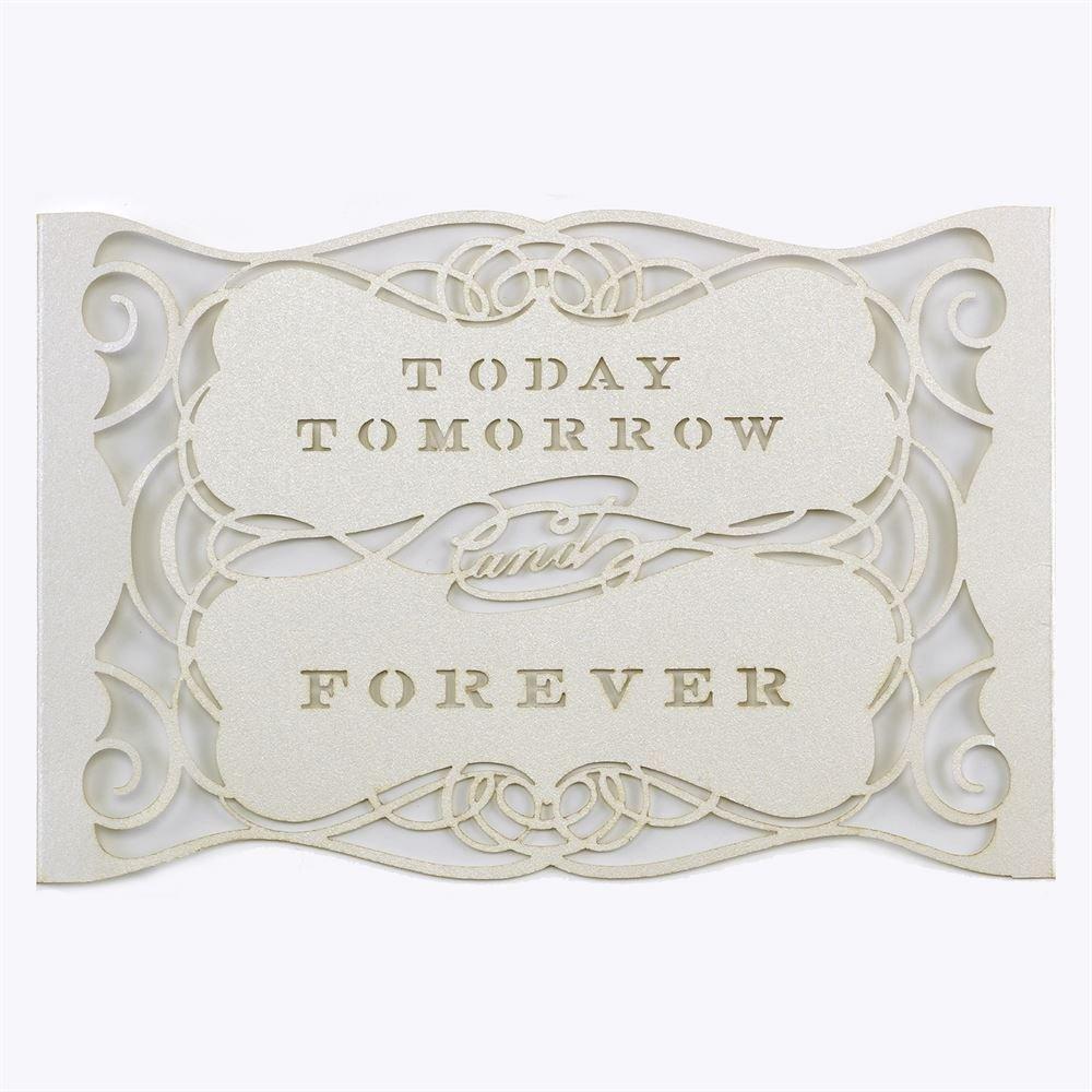 Laser Cut Wedding Invitation Wraps