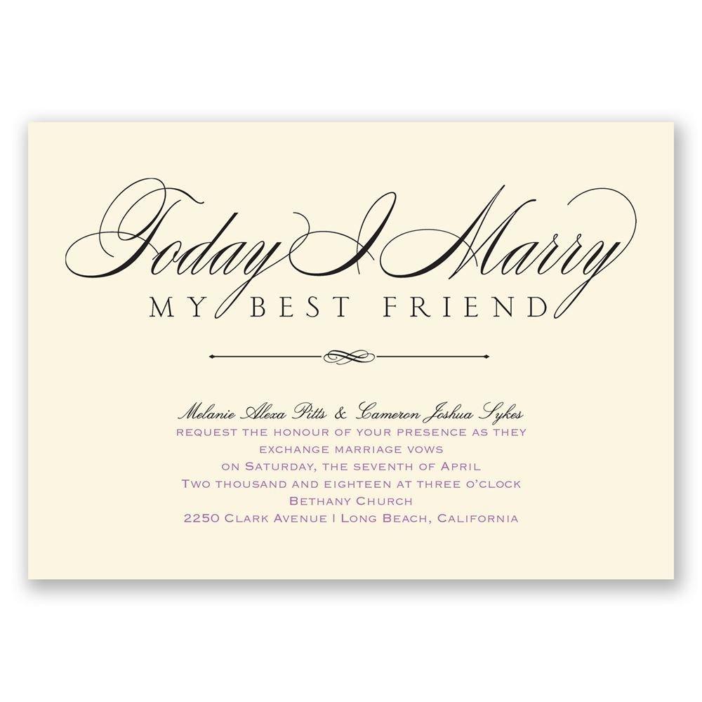 Love Amp Friendship Invitation Invitations By Dawn