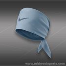 Nike Tennis Swoosh Bandana- Light Armory Blue