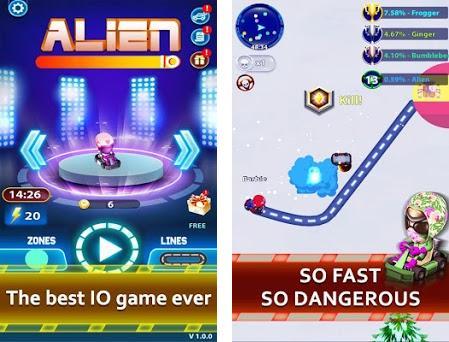 Alien.io Capturas de pantalla