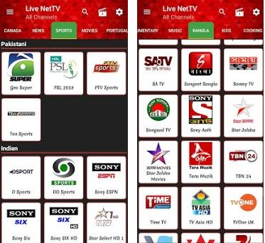 Download Live NetTV APK for Android - Latest Version