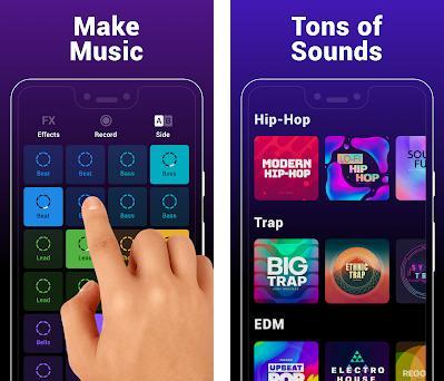 Groovepad - Creador de música Capturas de pantalla