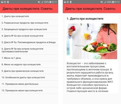 Варианты Диеты При Холецистите.