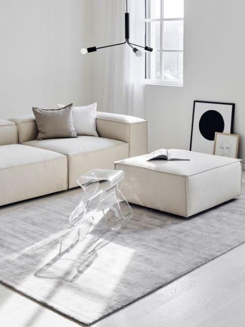 Bianco sporco per le pareti del living. Colore Grigio Consigli E Abbinamenti Westwing