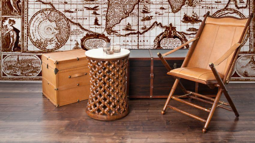 style colonial idees deco meubles