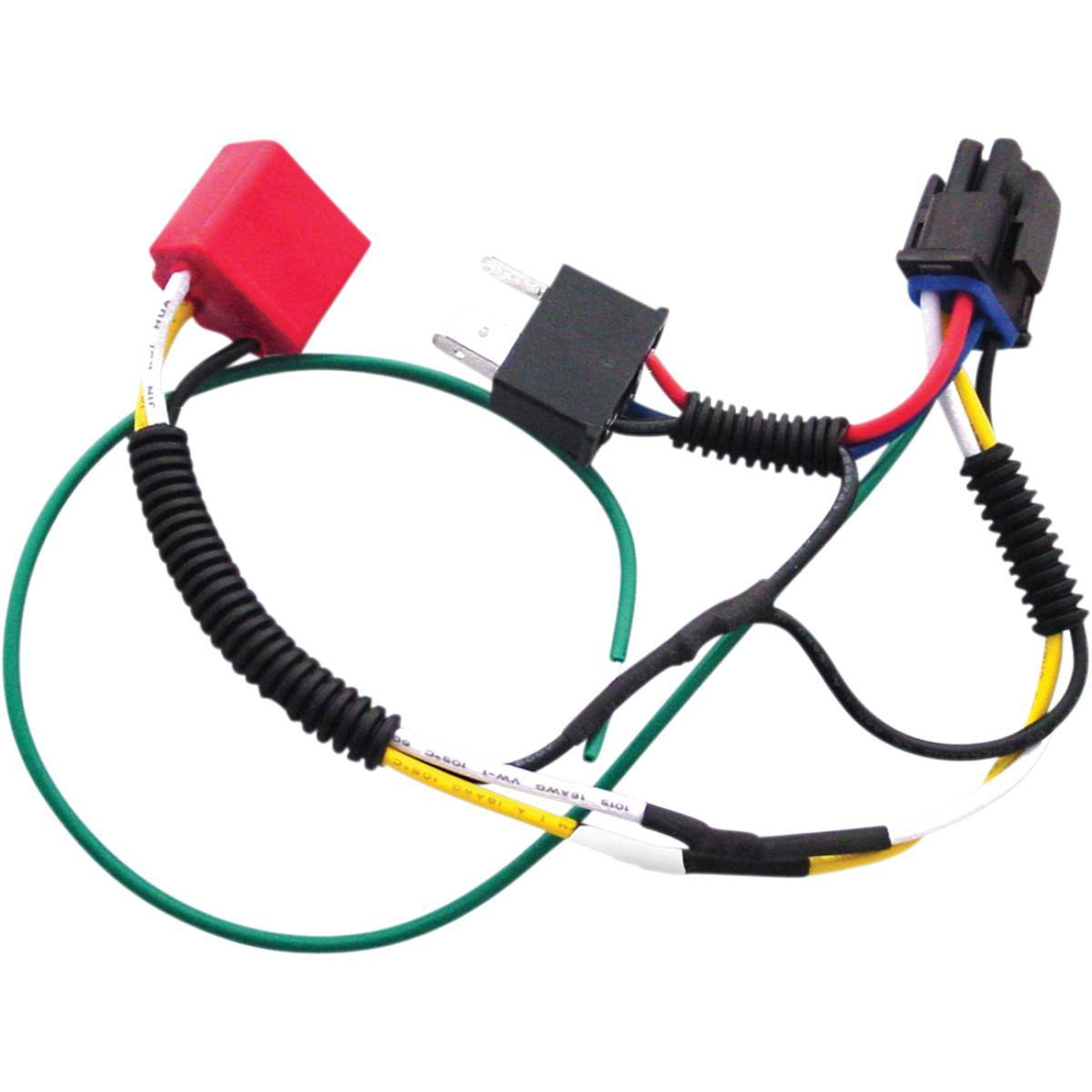 hight resolution of single h4 wiring harness kit for plug and play diamond star headlight modulator for sale in lowville ny d d racing 315 376 8013