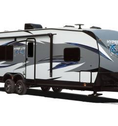 2018 xlr by forest river 27hfs xlr hyper lite travel trailers [ 1376 x 905 Pixel ]