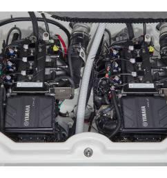 stock image twin yamaha marine engines [ 1227 x 806 Pixel ]