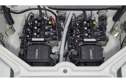 small resolution of stock image twin yamaha marine engines