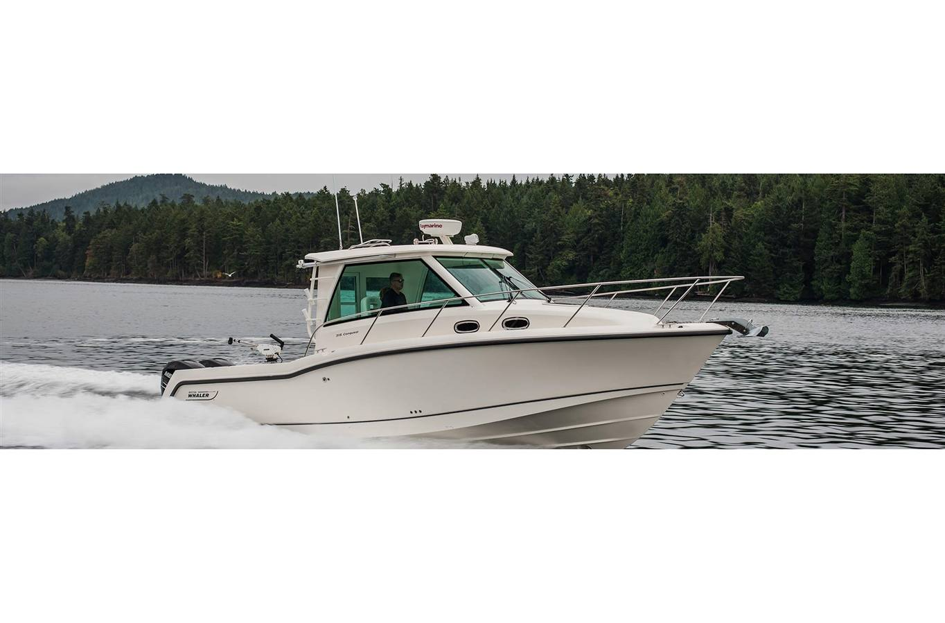 hight resolution of 2019 boston whaler 315 conquest pilothouse