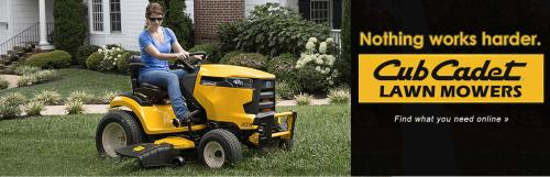 small resolution of cub cadet lawn mowers