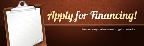 small resolution of apply for financing